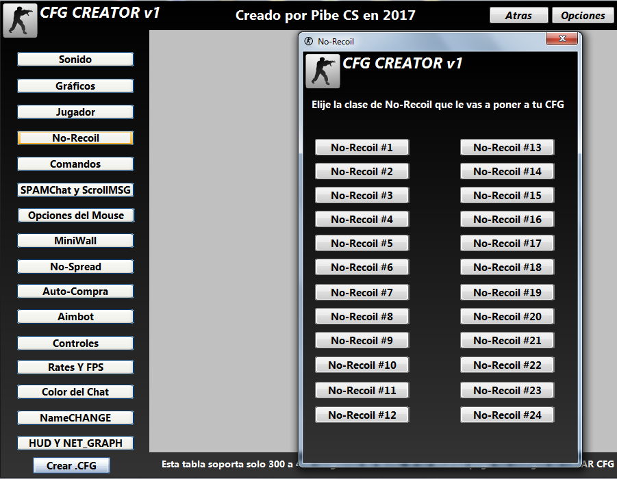 دانلود نرم افزار CFG CREATOR V1